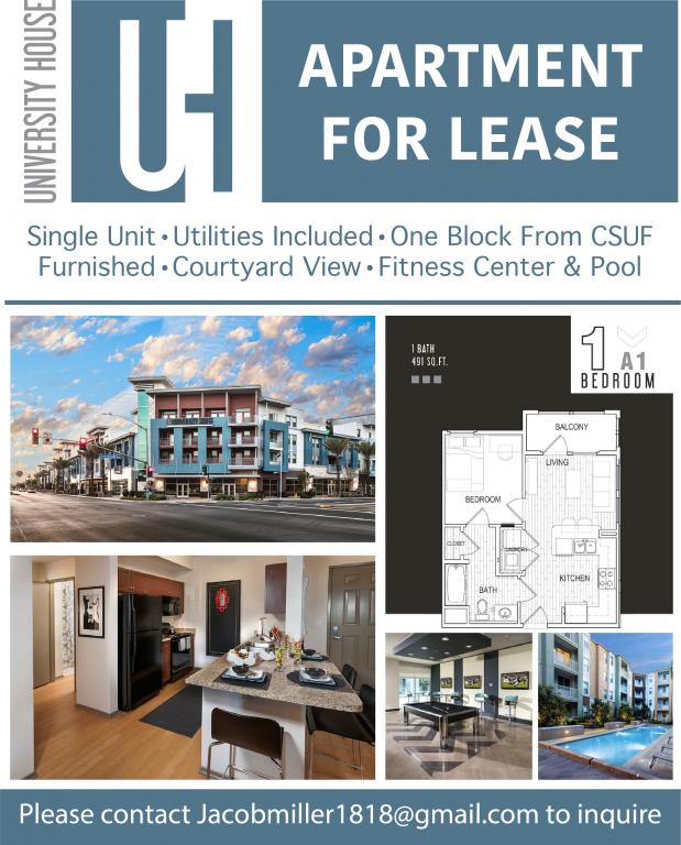 Single Unit - Luxury Apartment - Utilities & Amenities Included