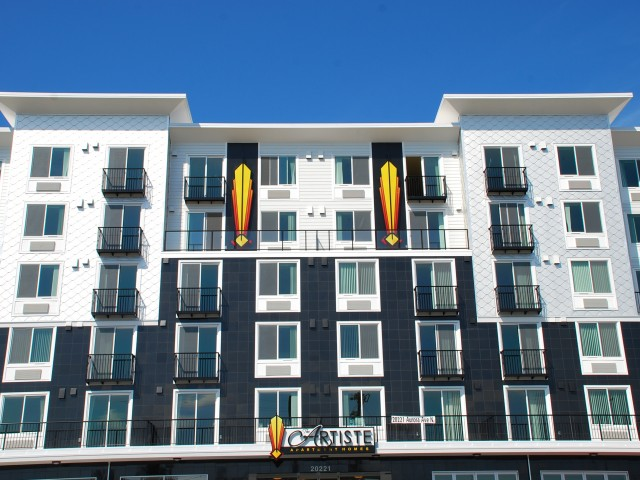 The Artiste Apartment Homes- Shoreline's newest community!