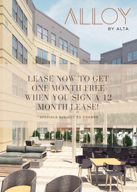 Alloy by Alta - Brand New Luxury Apartments near UMD
